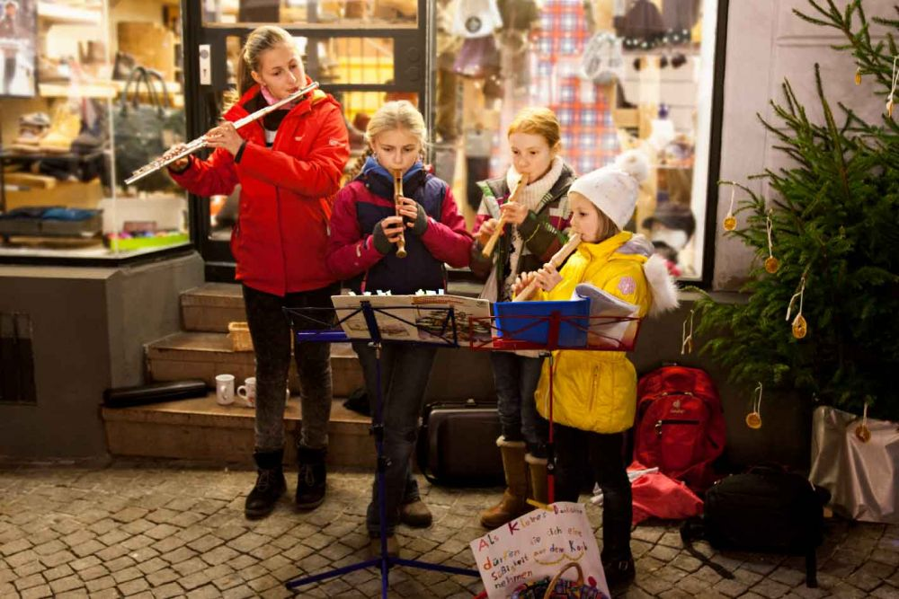 Blockflöten­­ensemble Junior